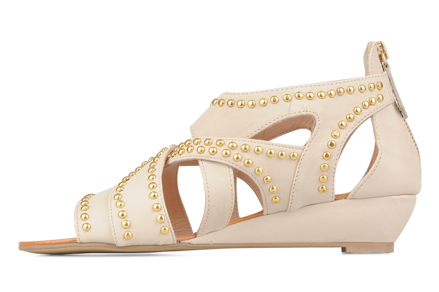 Sandals Carvela Kurly Beige front view