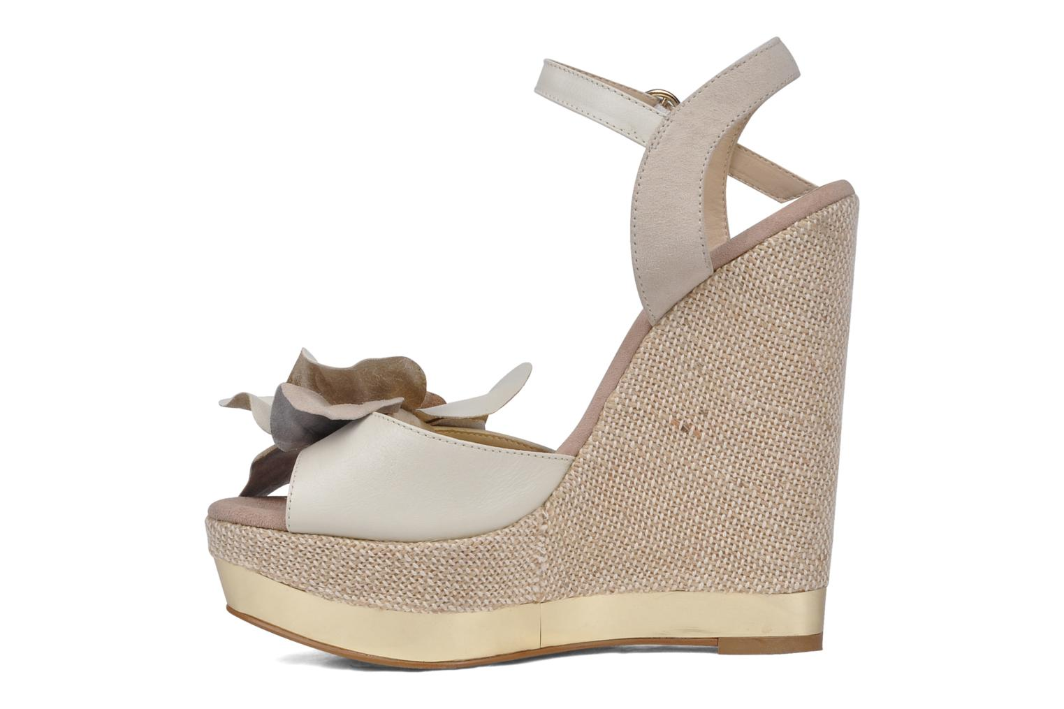 Sandalias Carvela Kuchina Blanco vista de frente