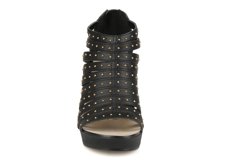 Sandales et nu-pieds Carvela Animal Noir vue portées chaussures