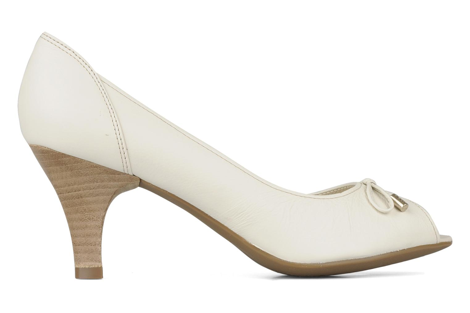 High heels Geox D cherie a White back view