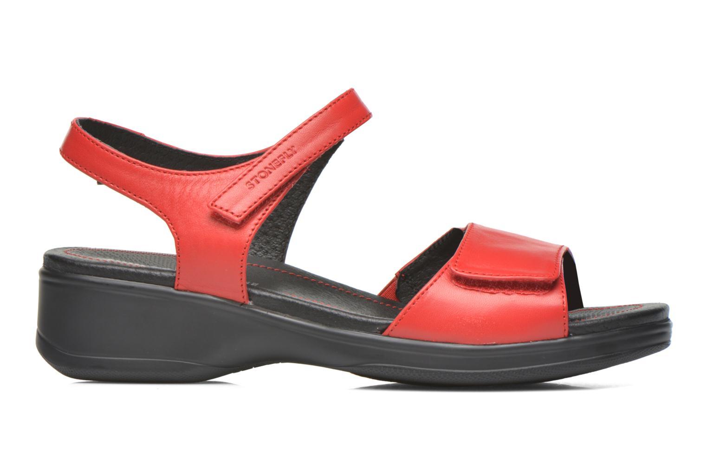Sandales et nu-pieds Stonefly Aqua II 7 Rouge vue derrière