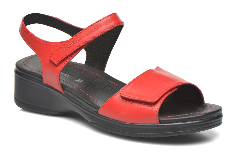 Sandales et nu-pieds Stonefly Aqua II 7 Rouge vue détail/paire