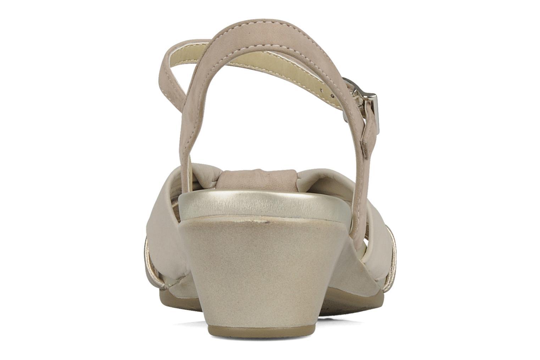 Sandali e scarpe aperte Stonefly Vanity 06 Beige immagine posteriore