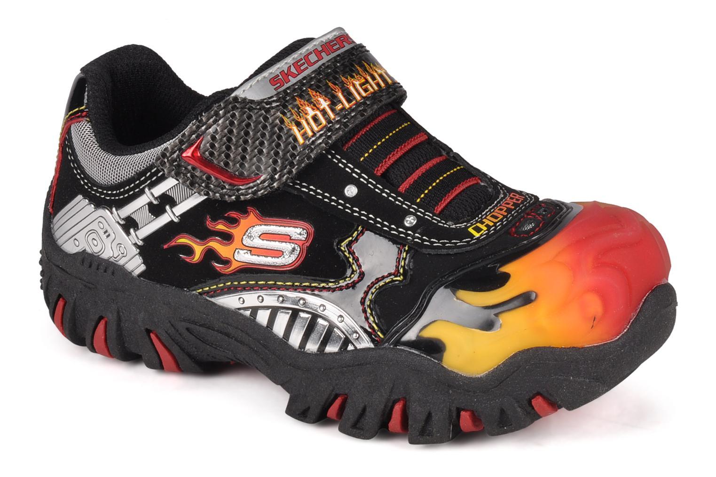 Sneakers Skechers Skx chopper Sort detaljeret billede af skoene