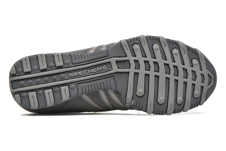 Sneaker Skechers Hot-ticket 21159 grau ansicht von oben