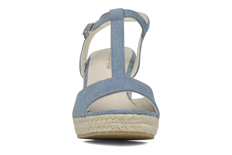 Sandales et nu-pieds Georgia Rose Uly Bleu vue portées chaussures