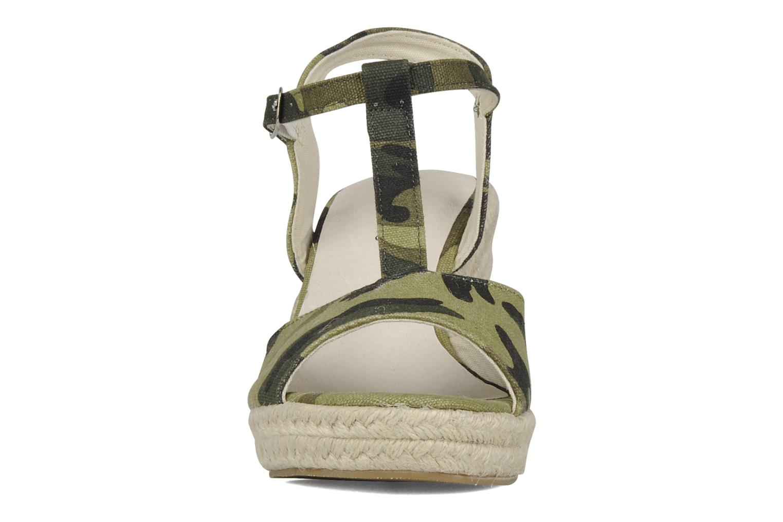 Sandali e scarpe aperte Georgia Rose Uly Verde modello indossato