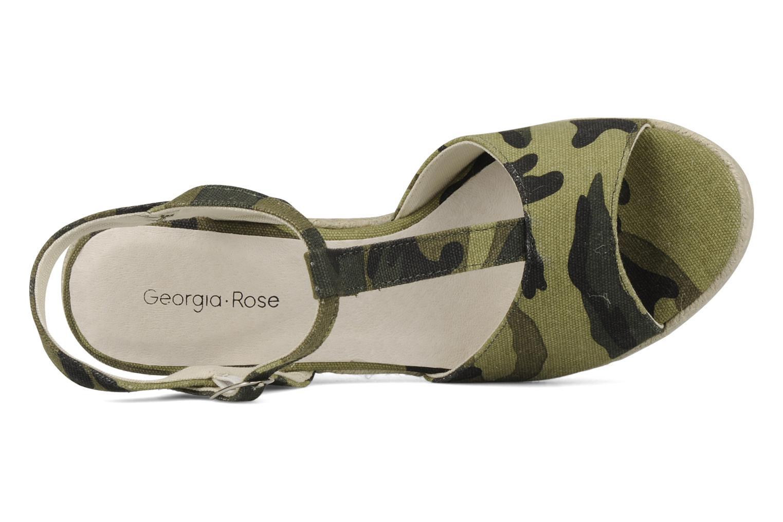 Sandali e scarpe aperte Georgia Rose Uly Verde immagine sinistra