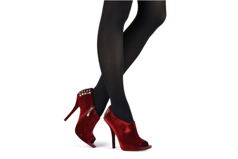Bottines et boots Guess Trynt Rouge vue bas / vue portée sac