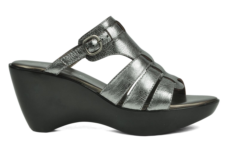 Sandales et nu-pieds Espace Angie Argent vue derrière