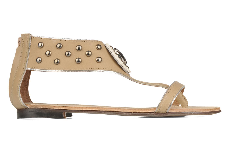 Sandales et nu-pieds Rosemetal Taylor Beige vue derrière