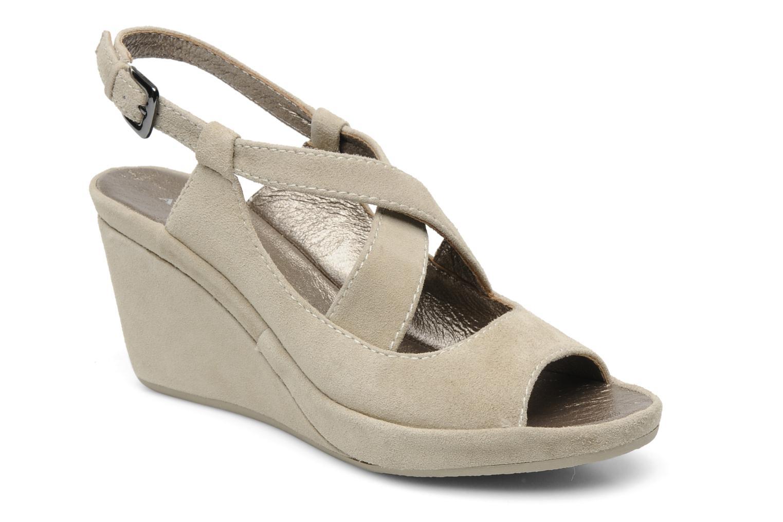 Sandales et nu-pieds Rosemetal Laney Beige vue détail/paire