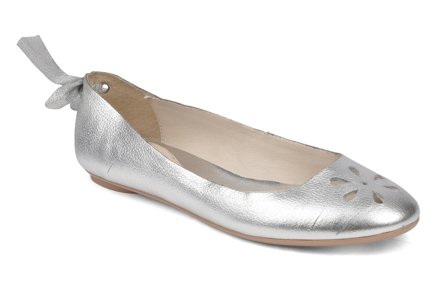 Ballet pumps Mellow Yellow Junior Silver detailed view/ Pair view