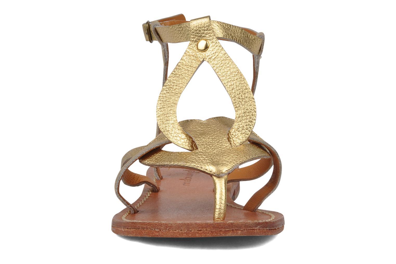 Sandals Mellow Yellow Joke Bronze and Gold model view