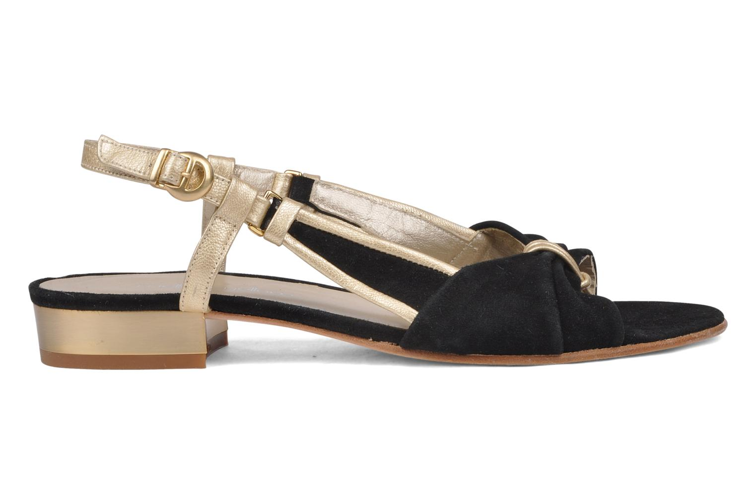 Sandals Mellow Yellow Janette Black back view