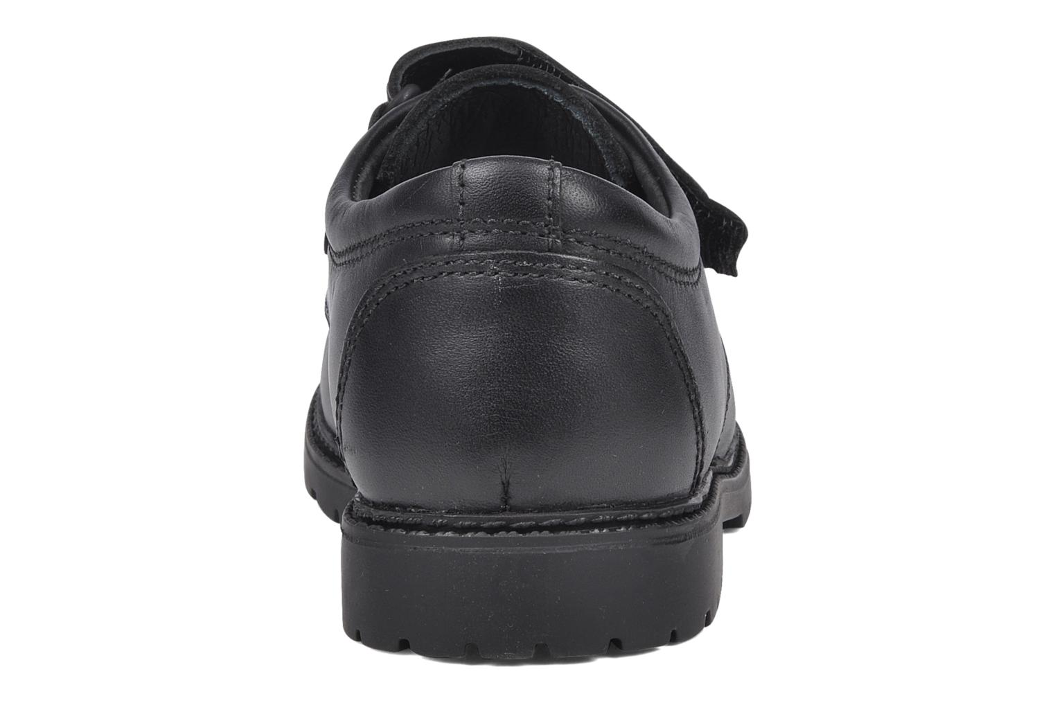 Velcro shoes Start Rite Will Black view from the right