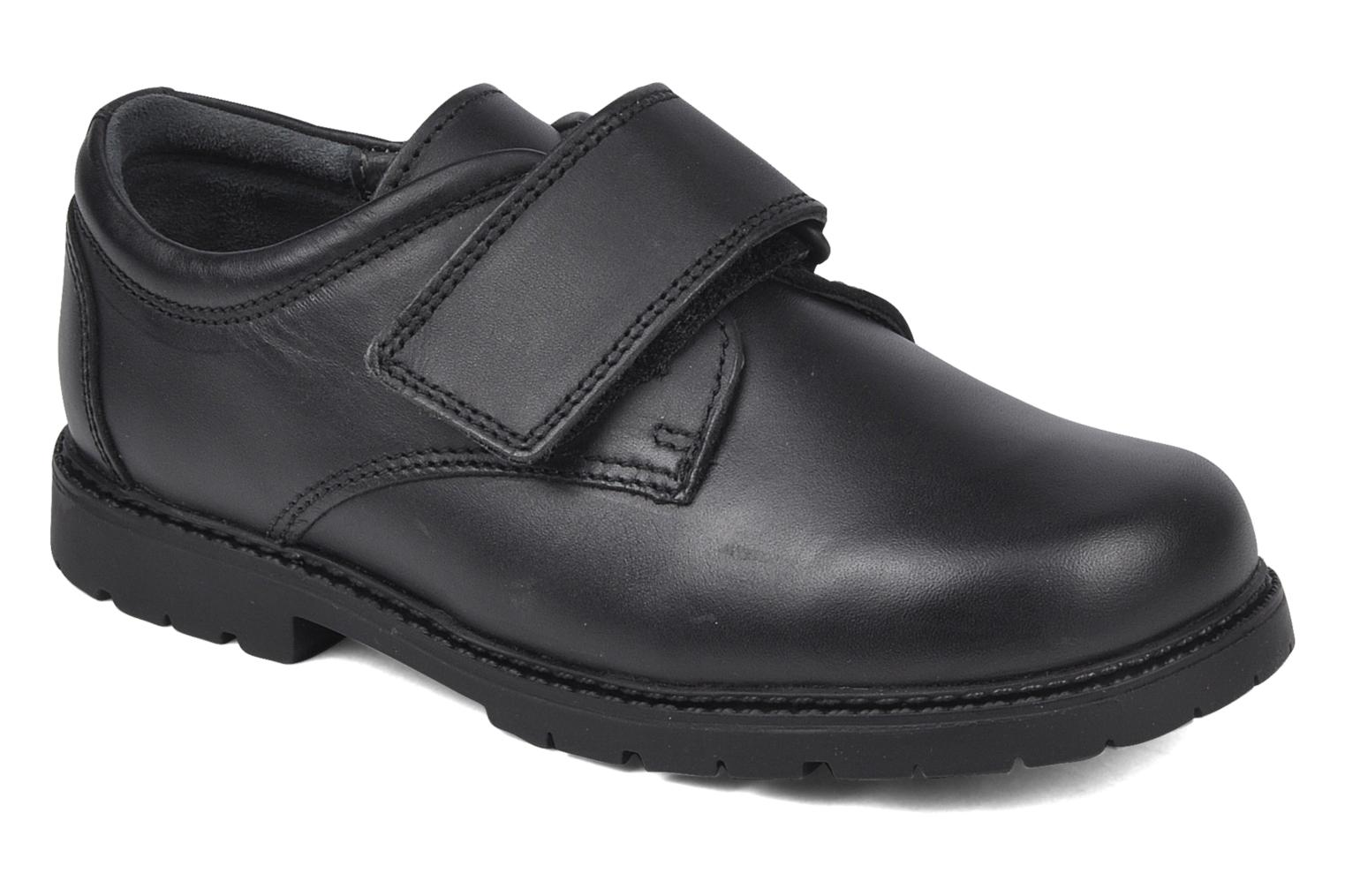 Velcro shoes Start Rite Will Black detailed view/ Pair view