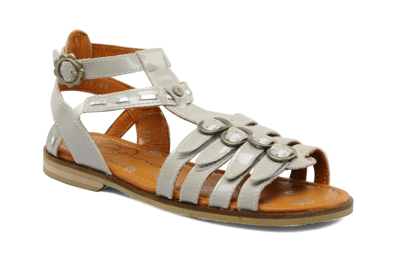 Sandals Start Rite Peruvian Silver detailed view/ Pair view