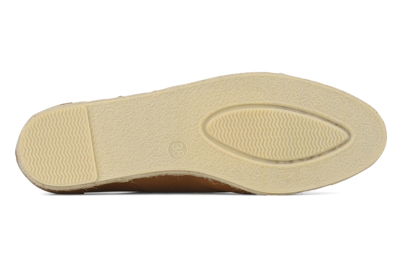 Zapatos con cordones Zespà Salhia Marrón vista de arriba