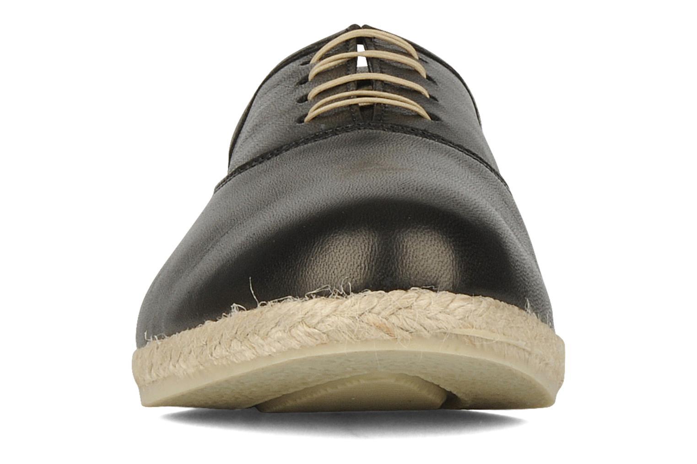 Chaussures à lacets Zespà Salhia Noir vue portées chaussures