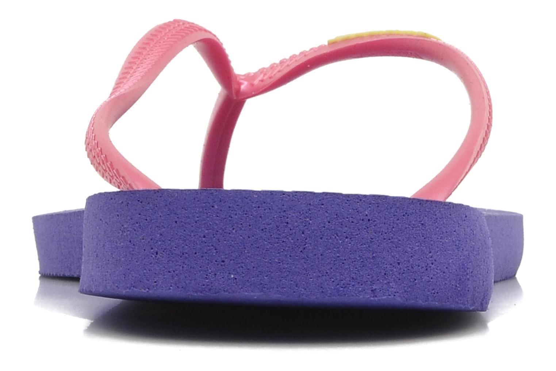 Slim logo femme Violet