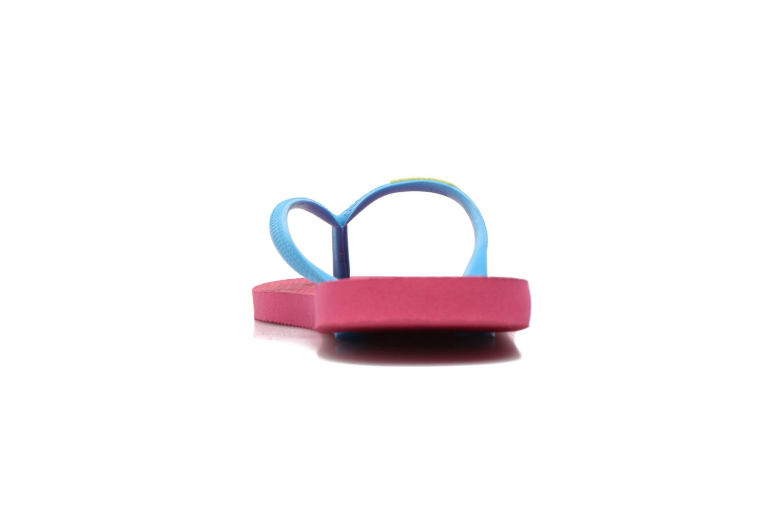 Slim logo femme Orchid Rose Turquoise