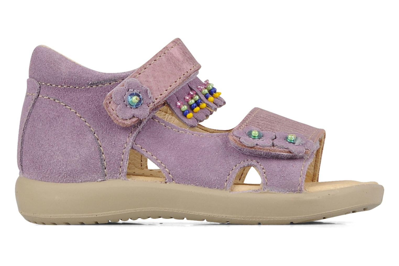 Sandali e scarpe aperte Naturino Karine Viola immagine posteriore
