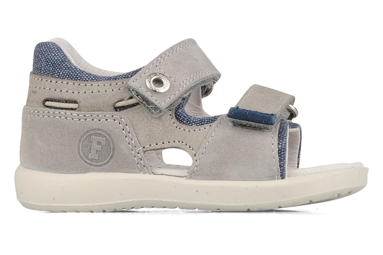 Sandali e scarpe aperte Naturino Joey Grigio immagine posteriore