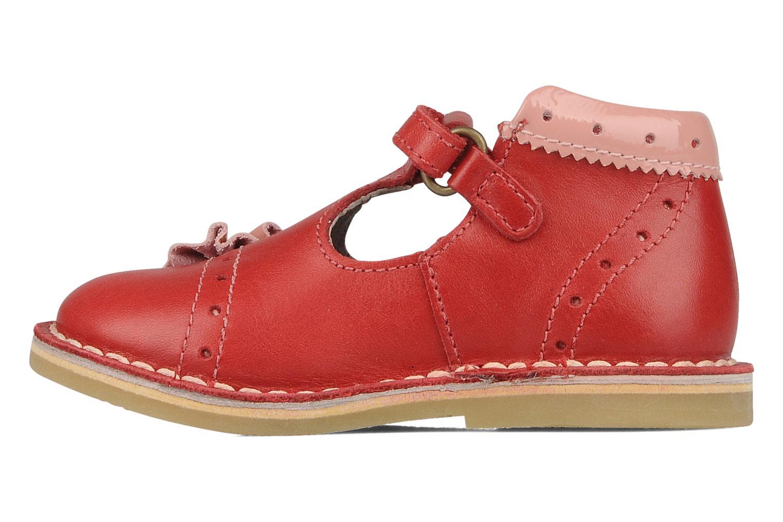 Stiefeletten & Boots Kickers Connie rot ansicht von vorne