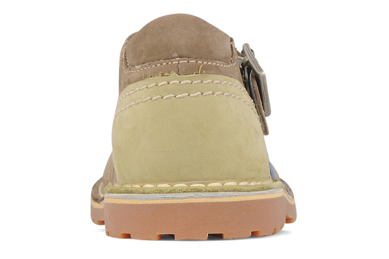 Bottines et boots Kickers Liko Vert vue droite
