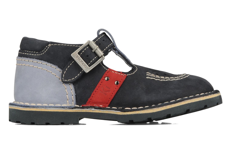 Stiefeletten & Boots Kickers Liko blau ansicht von hinten