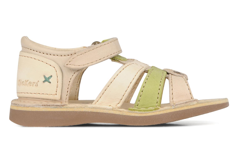 Sandales et nu-pieds Kickers Woopy Beige vue derrière