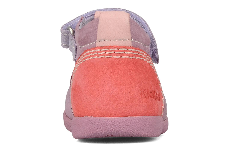 Stiefeletten & Boots Kickers Babyfrench lila ansicht von rechts