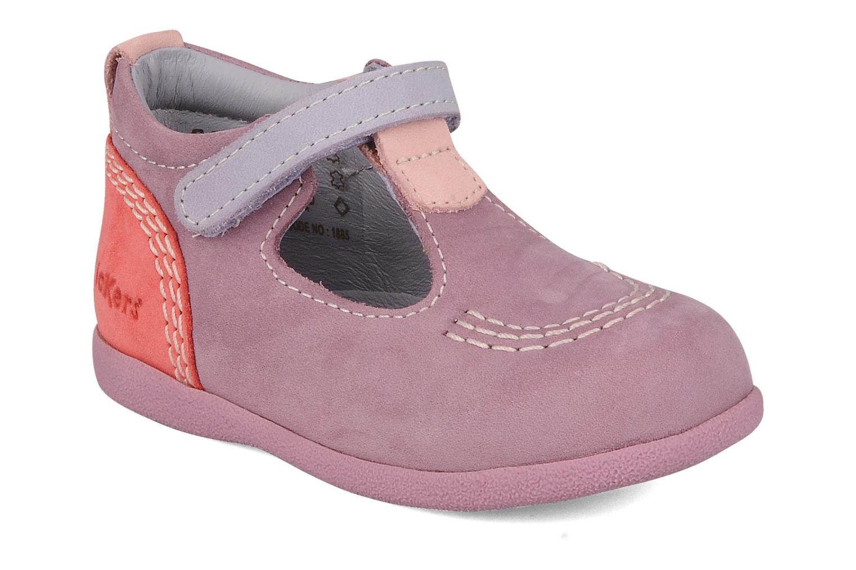 Stiefeletten & Boots Kickers Babyfrench lila detaillierte ansicht/modell