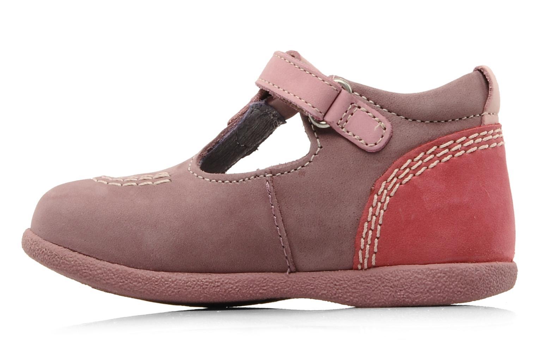 Stiefeletten & Boots Kickers Babyfrench rosa ansicht von vorne