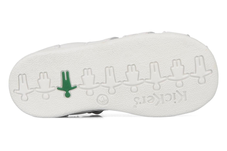 Sandales et nu-pieds Kickers Babysun Blanc vue haut