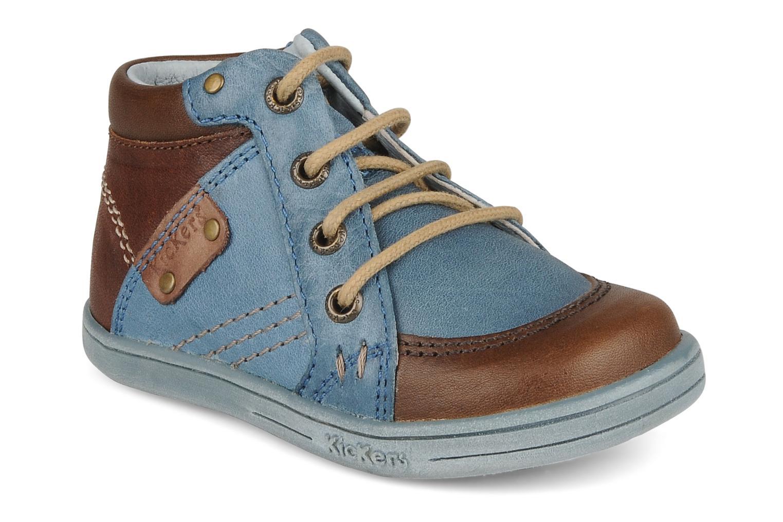 Stiefeletten & Boots Kickers Travis blau detaillierte ansicht/modell