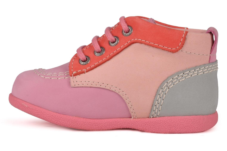 Stiefeletten & Boots Kickers Babystart rosa ansicht von vorne