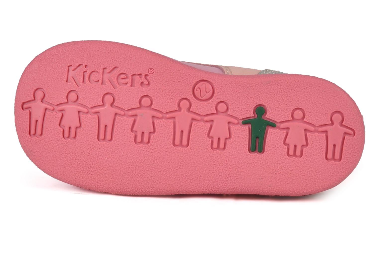 Stiefeletten & Boots Kickers Babystart rosa ansicht von oben