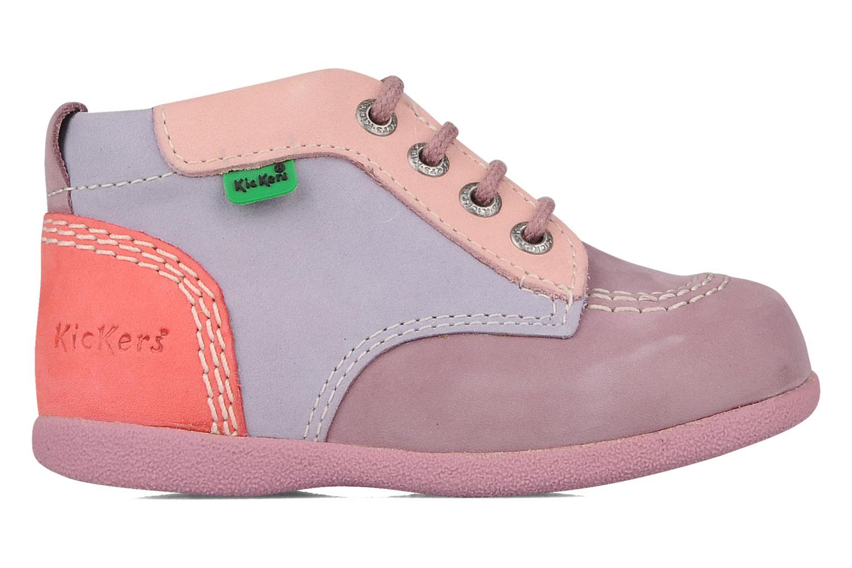 Stiefeletten & Boots Kickers Babystart lila ansicht von hinten