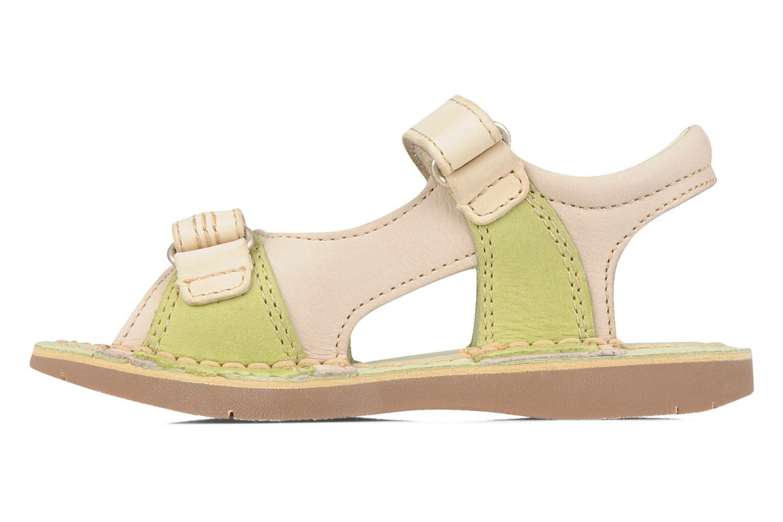 Sandales et nu-pieds Kickers Woaza Vert vue face
