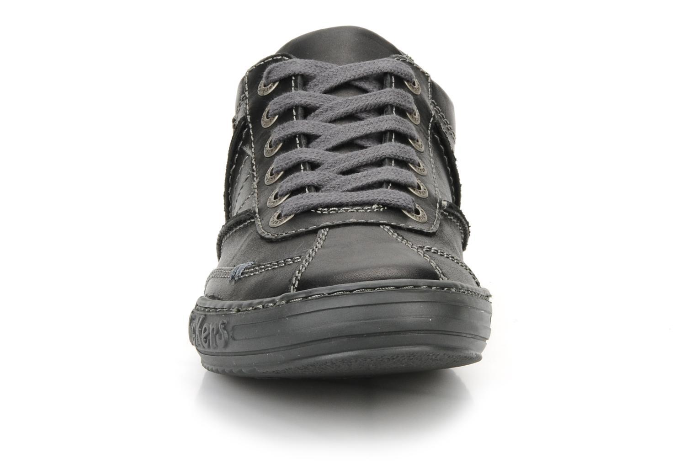 Baskets Kickers Jojo Noir vue portées chaussures