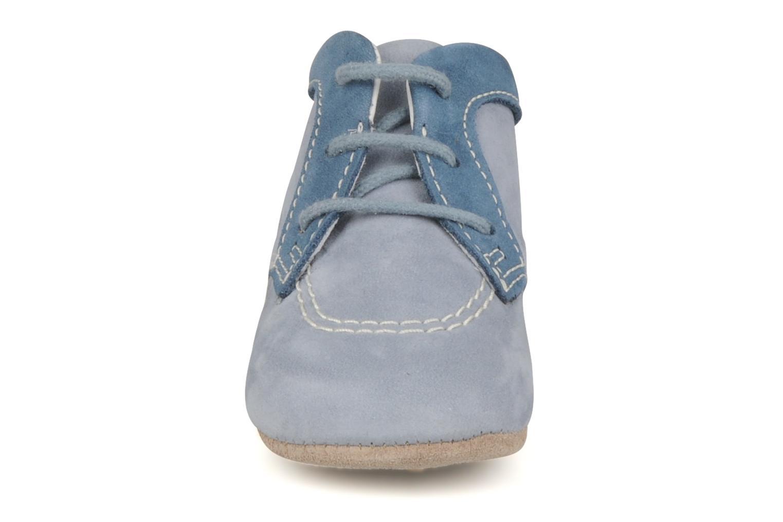 Stiefeletten & Boots Kickers 2B Big blau schuhe getragen