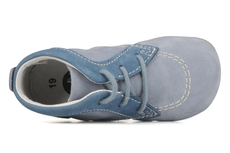 Stiefeletten & Boots Kickers 2B Big blau ansicht von links
