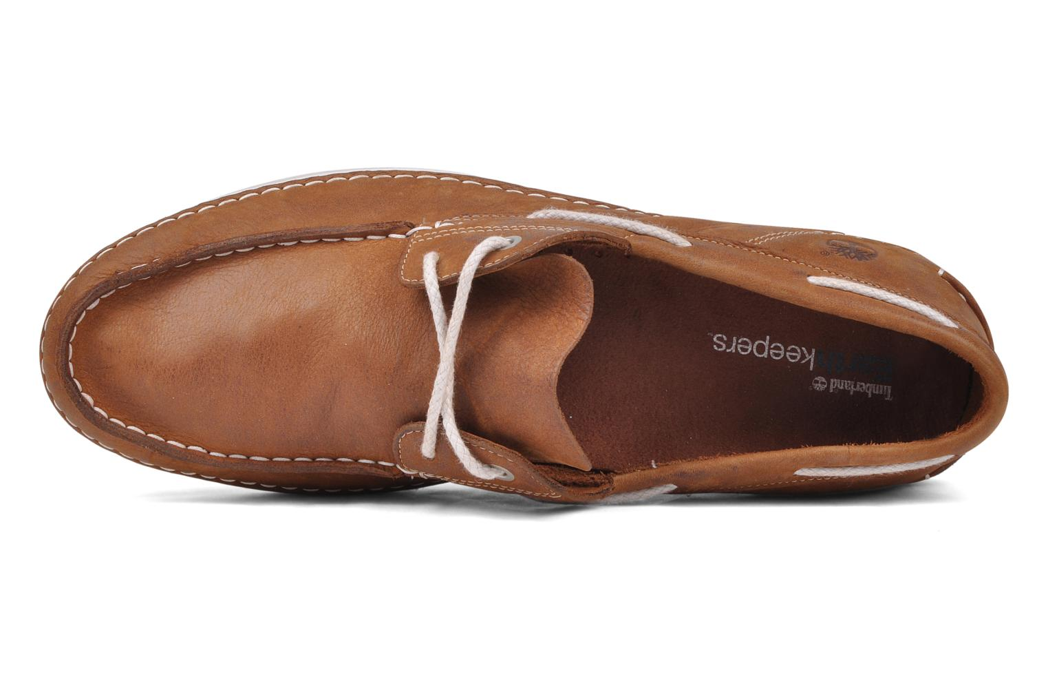 Chaussures à lacets Timberland Earthkeepers 2.0 2 eye boat Marron vue gauche