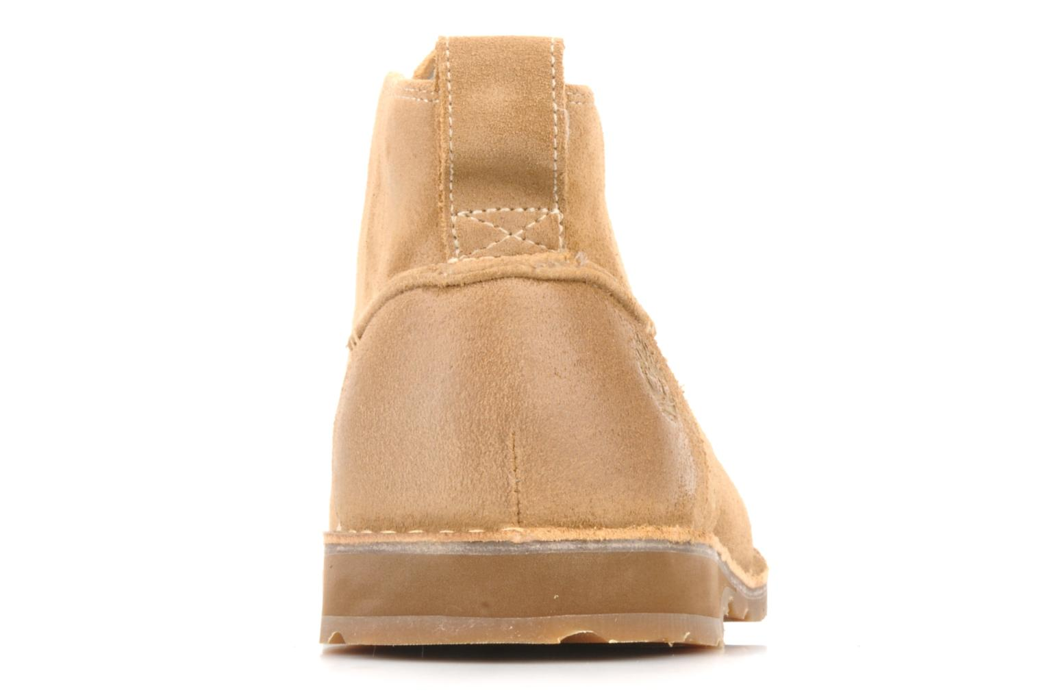 Bottines et boots Timberland Earthkeepers suede desert boot Beige vue droite
