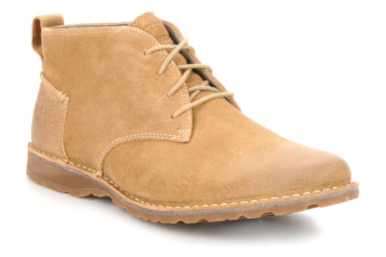 Bottines et boots Timberland Earthkeepers suede desert boot Beige vue détail/paire