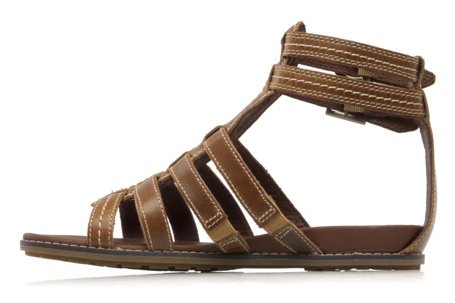 Sandales et nu-pieds Timberland Earthkeepers kennebunk braided gladiator Marron vue face