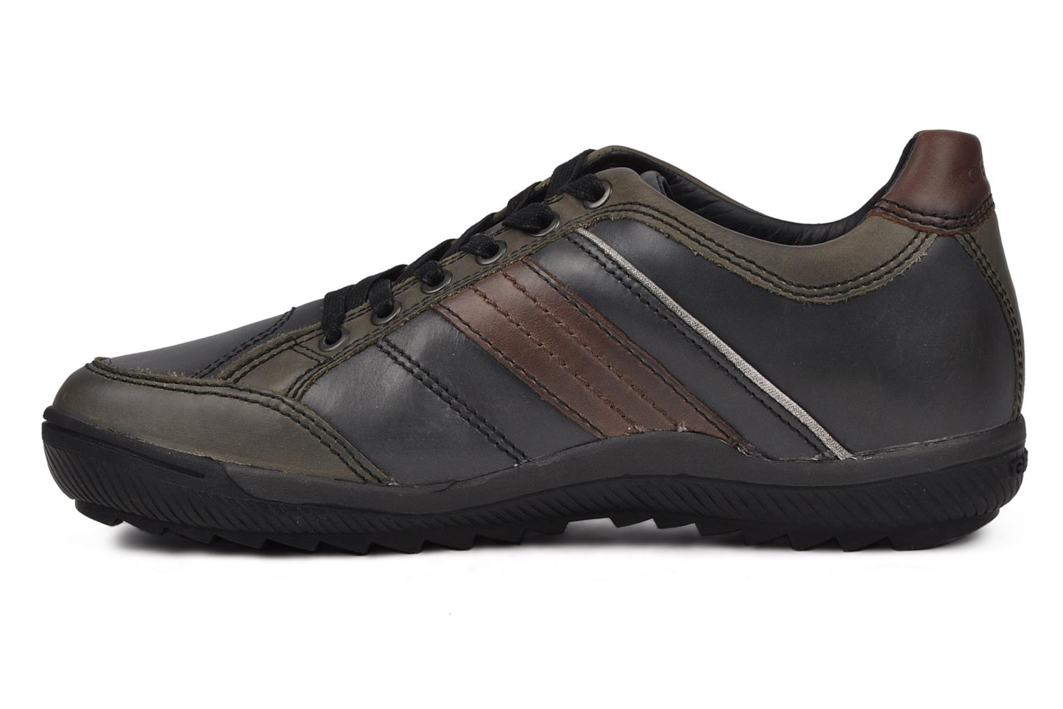 Trainers Geox U italo n Green front view