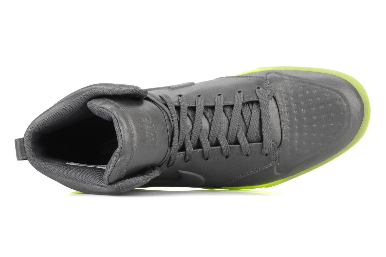 Sneaker Nike Wmns nike air royalty mid vt grau ansicht von links